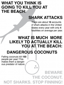 How dangerous are sharks